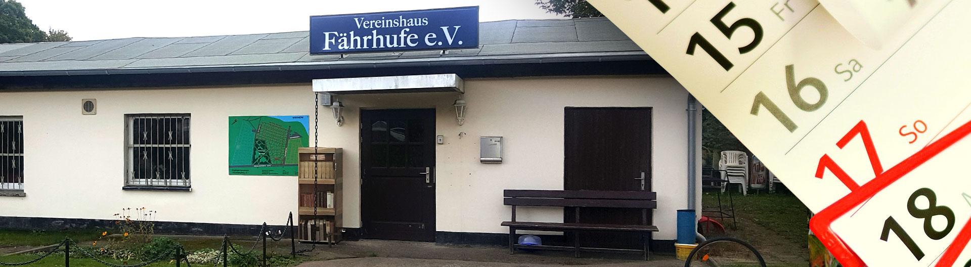 Vereinshaus Aktuelles